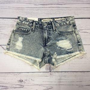 Pacsun Bullhead Company Acid Wash Shorts SZ 22